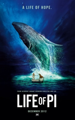 Life of Pi movie poster (2012) poster MOV_7a3a83ef
