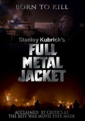 Full Metal Jacket movie poster (1987) poster MOV_7a4890e7