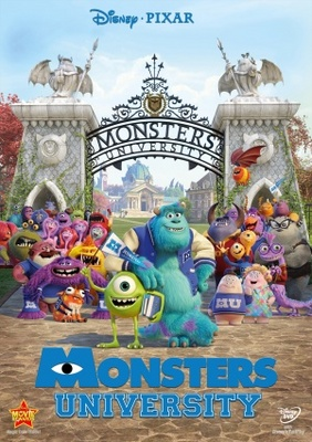 Monsters University movie poster (2013) poster MOV_7a6a17ff