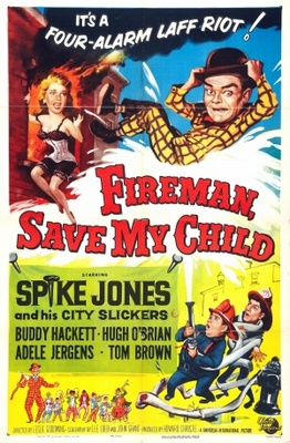 Fireman Save My Child movie poster (1954) poster MOV_7a7ad8c0