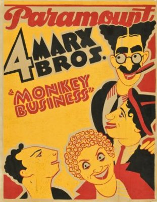 Monkey Business movie poster (1931) poster MOV_7a899f02