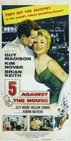 5 Against the House movie poster (1955) picture MOV_678a99c4