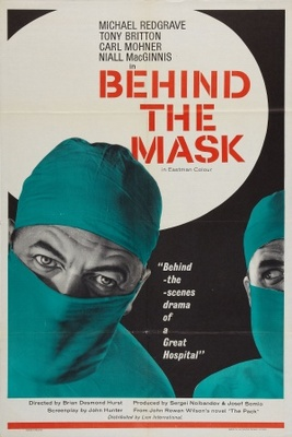 Behind the Mask movie poster (1958) poster MOV_7acd6d1f