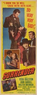 Surrender movie poster (1950) poster MOV_7ae91ec4