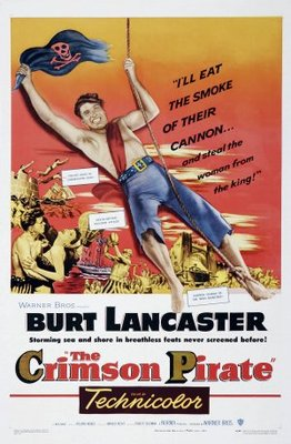 The Crimson Pirate movie poster (1952) poster MOV_7b189f8f