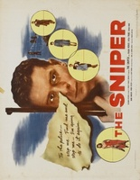 The Sniper movie poster (1952) picture MOV_7b18b4ba