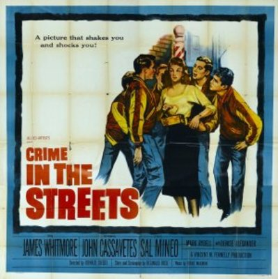 Crime in the Streets movie poster (1956) poster MOV_7b372dd4