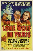 The Lone Wolf in Paris movie poster (1938) picture MOV_7b527cc4