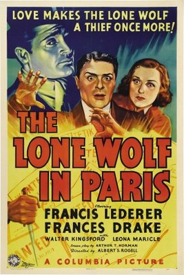 The Lone Wolf in Paris movie poster (1938) poster MOV_7b527cc4