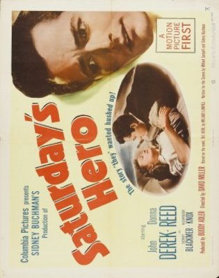 Saturday's Hero movie poster (1951) poster MOV_7b661c9a