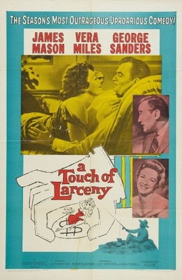 A Touch of Larceny movie poster (1959) poster MOV_7b6ce3fb