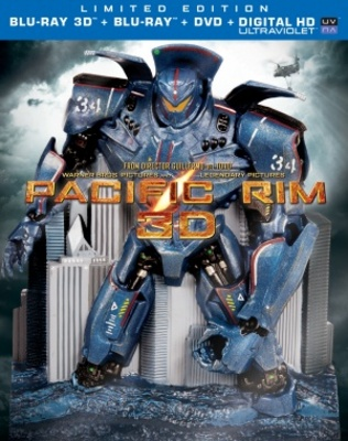 Pacific Rim movie poster (2013) poster MOV_7b74d6ff