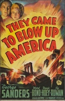 They Came to Blow Up America movie poster (1943) picture MOV_7b83031f