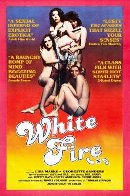 White Fire movie poster (1976) poster MOV_7b8f51d8