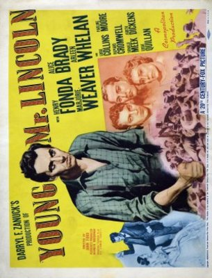 Young Mr. Lincoln movie poster (1939) poster MOV_7bb5553c