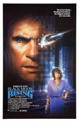 Black Moon Rising movie poster (1986) poster MOV_7bcf5b2c