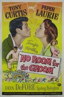 No Room for the Groom movie poster (1952) picture MOV_7be228db