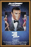Never Say Never Again movie poster (1983) picture MOV_7bf055e9