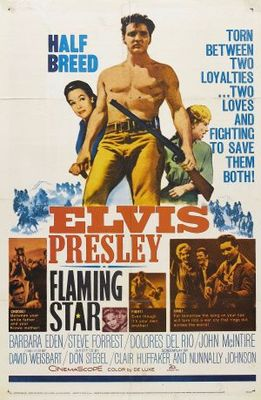 Flaming Star movie poster (1960) poster MOV_7bf20942