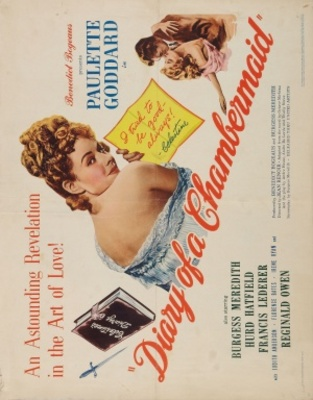 The Diary of a Chambermaid movie poster (1946) poster MOV_7c06358d