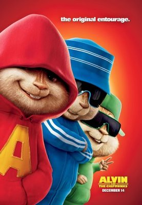 Alvin and the Chipmunks movie poster (2007) poster MOV_7c0ee8a1