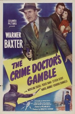 Crime Doctor's Gamble movie poster (1947) poster MOV_7c139c25