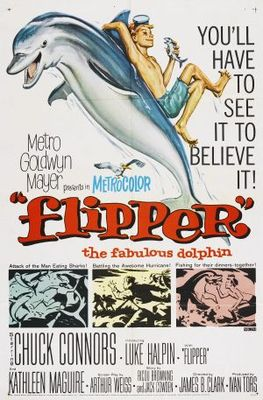 Flipper movie poster (1963) poster MOV_7c2d63ff