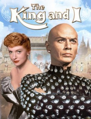 The King and I movie poster (1956) poster MOV_7c3e26e8