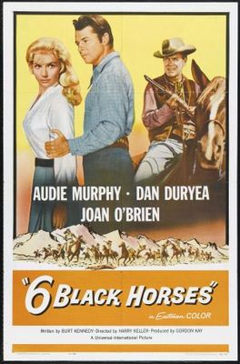Six Black Horses movie poster (1962) poster MOV_7c425ee5