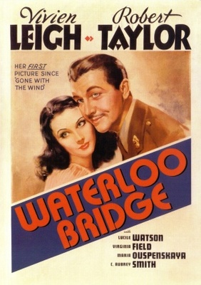 Waterloo Bridge movie poster (1940) poster MOV_7c666bea