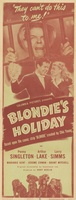 Blondie's Holiday movie poster (1947) picture MOV_7cac462e