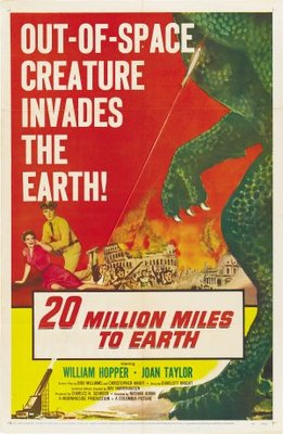 20 Million Miles to Earth movie poster (1957) poster MOV_7cae6566