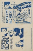 Anybody's Blonde movie poster (1931) picture MOV_7cb523d1
