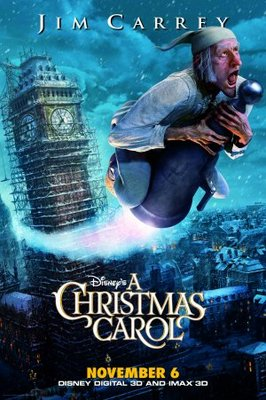 A Christmas Carol movie poster (2009) poster MOV_7cc05eb3
