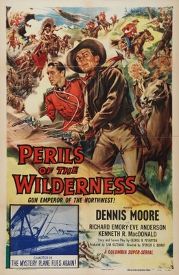 Perils of the Wilderness movie poster (1956) poster MOV_7cc4b05a