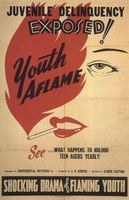 Youth Aflame movie poster (1944) picture MOV_7ccd4e6d