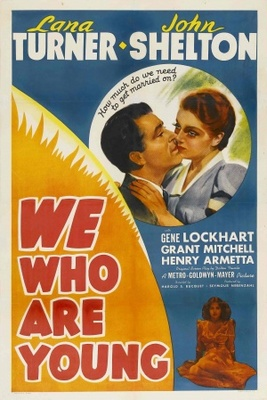 We Who Are Young movie poster (1940) poster MOV_7cf22edf