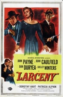 Larceny movie poster (1948) picture MOV_7cfdfe04