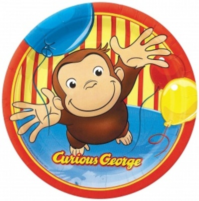 Curious George movie poster (2006) poster MOV_7d00d6e7