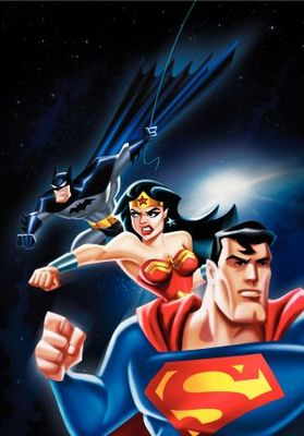 Justice League movie poster (2001) poster MOV_7d0c918e
