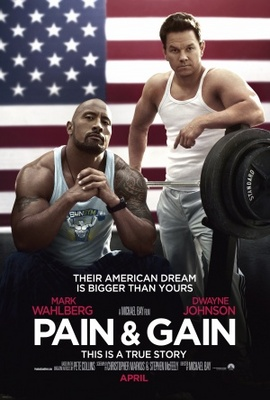 Pain and Gain movie poster (2013) poster MOV_7d1b0902