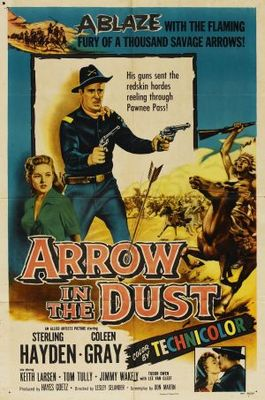Arrow in the Dust movie poster (1954) poster MOV_7d1e7ede