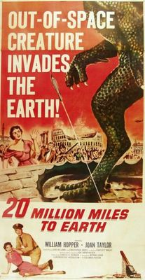 20 Million Miles to Earth movie poster (1957) poster MOV_7d2137b0