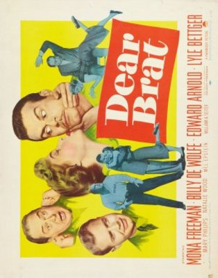 Dear Brat movie poster (1951) poster MOV_7d21cbcd