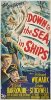 Down to the Sea in Ships movie poster (1949) picture MOV_7d491399