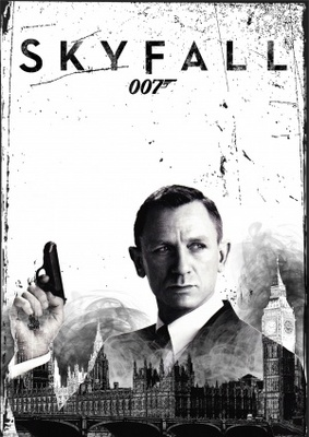 Skyfall movie poster (2012) poster MOV_7d52de27