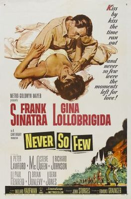 Never So Few movie poster (1959) poster MOV_7d797171
