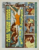 Boy on a Dolphin movie poster (1957) picture MOV_7d8b1786
