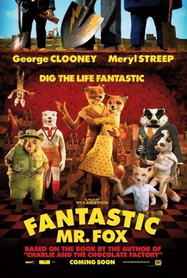 Fantastic Mr. Fox movie poster (2009) poster MOV_7dba2b36