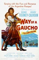 Way of a Gaucho movie poster (1952) picture MOV_7dc287a9